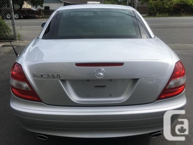 2007 Mercedes-Benz SLK350 - ONLY 35,500 KMS!