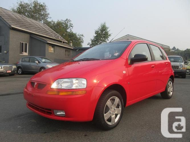 2007 Pontiac Wave - NO ACCIDENTS - BC ONLY!
