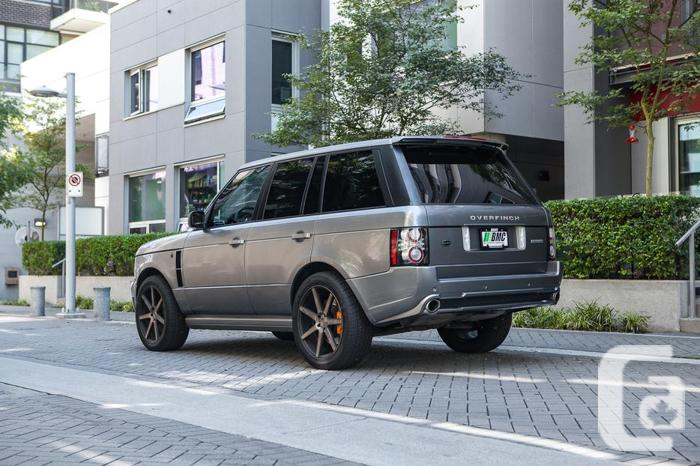 2007 Range Rover Supercharged OverFinch Edition