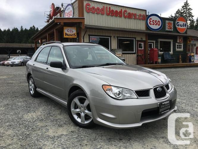 2007 Subaru Impreza 2.5 L - Automatic & All-Wheel-Drive