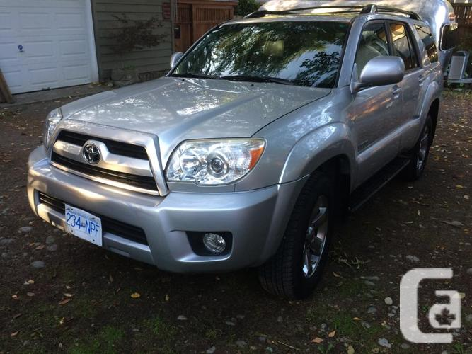2007 toyota 4 runner limited v6 for sale in victoria. Black Bedroom Furniture Sets. Home Design Ideas