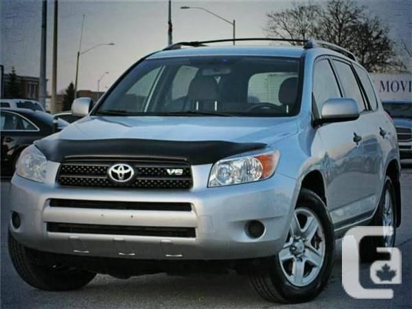 2007 Toyota RAV4 AWD/ CLEAN CARPROOF / ONLY 150KM -