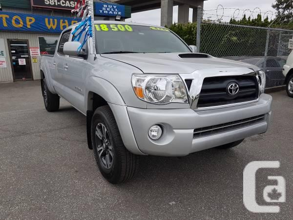 2007 Toyota Tacoma 4X4, Crew-Cab with 12 month free