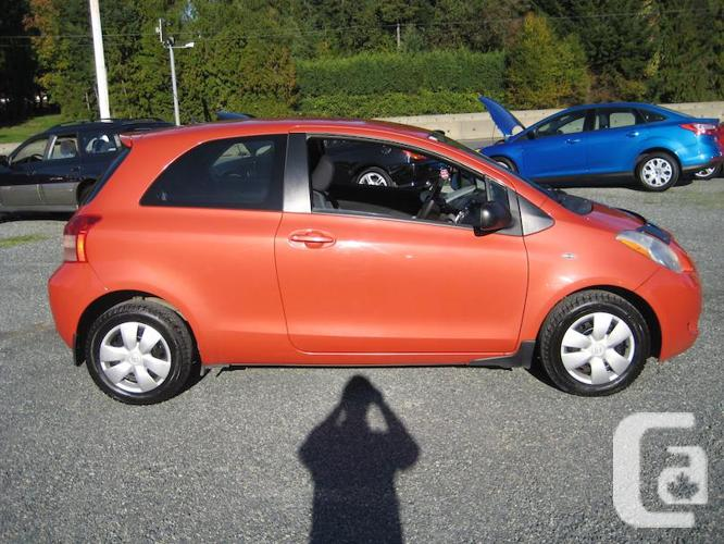 2007 Toyota Yaris, Manual Trans, Only 106200 kms