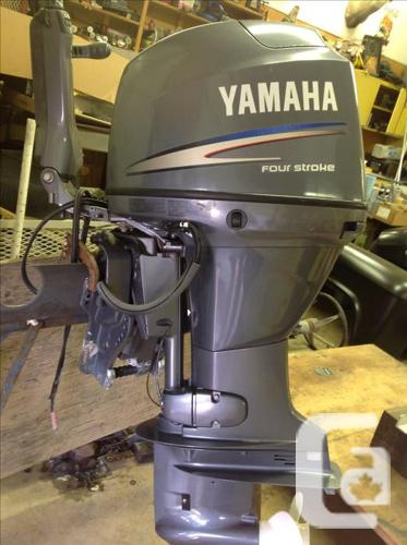 2007 Yamaha 50 horsepower 4stroke outboard motor in Ahousat, British  Columbia for sale