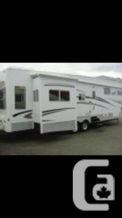 2008 38 ft citation supreme platinum 5th wheel - $54900