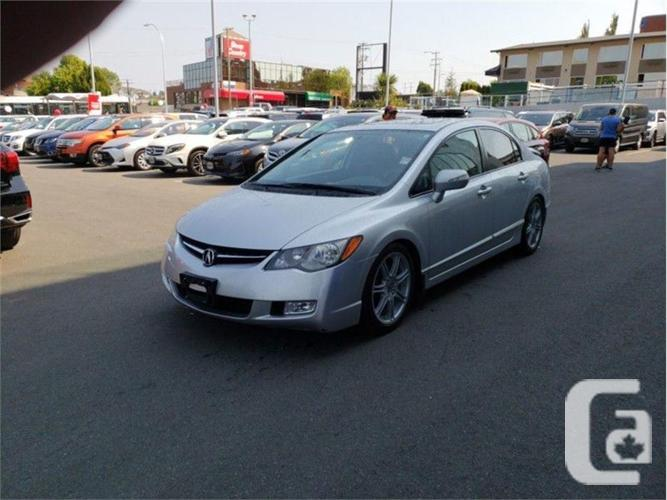 2008 Acura Tl Type S Navigation >> 2008 Acura Csx Type S Navigation No Accidents Local Victoria In Nanaimo British Columbia For Sale