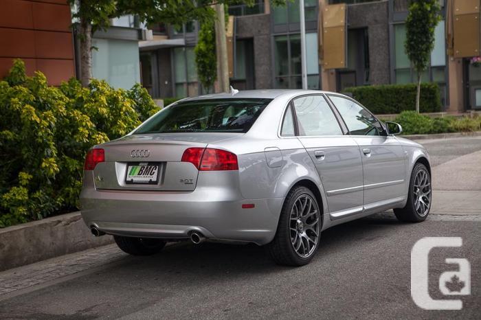 2008 Audi A4 2.0T S Line Sedan low kms