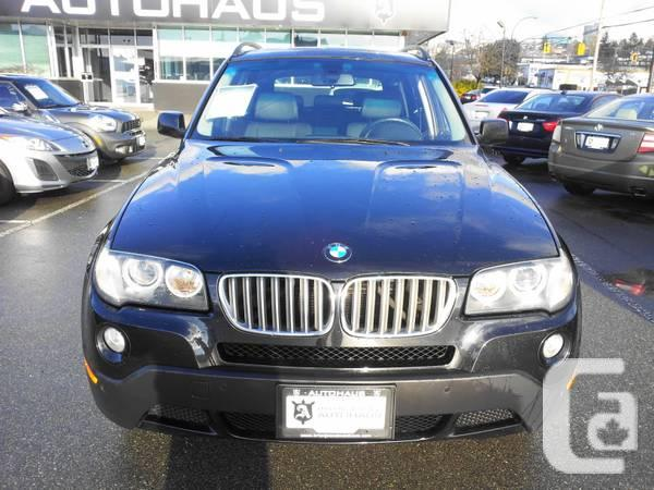2008 bmw x3 3 0si for sale in calgary alberta. Black Bedroom Furniture Sets. Home Design Ideas