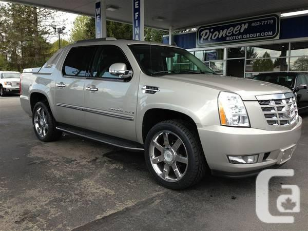2008 cadillac escalade ext loaded truck for sale in maple ridge british columbia classifieds. Black Bedroom Furniture Sets. Home Design Ideas