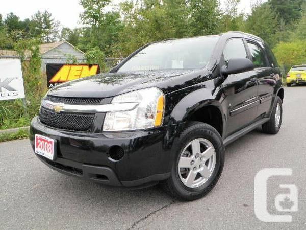 2008 Chevrolet Equinox LS - $8888