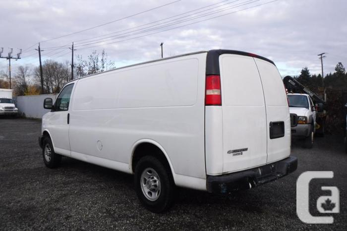 2008 Chevrolet Express 2500 Extended Cargo Van with