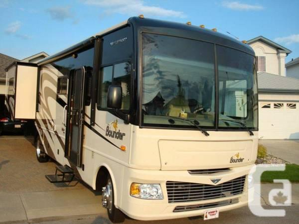 2008 Fleetwood Bounder Motorhome For Sale In Edmonton Alberta Classifieds