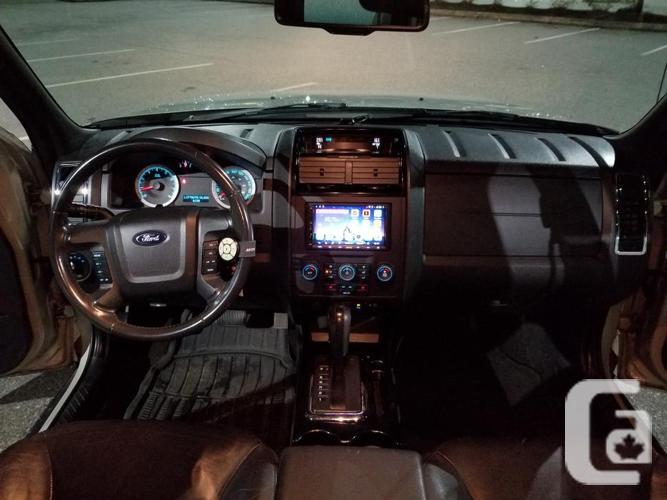 2008 Ford Escape Limit. 4WD Backup/Dash Cam, Heat,