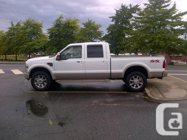 2008 ford f350 shortbox king ranch for sale in pitt meadows british. Cars Review. Best American Auto & Cars Review