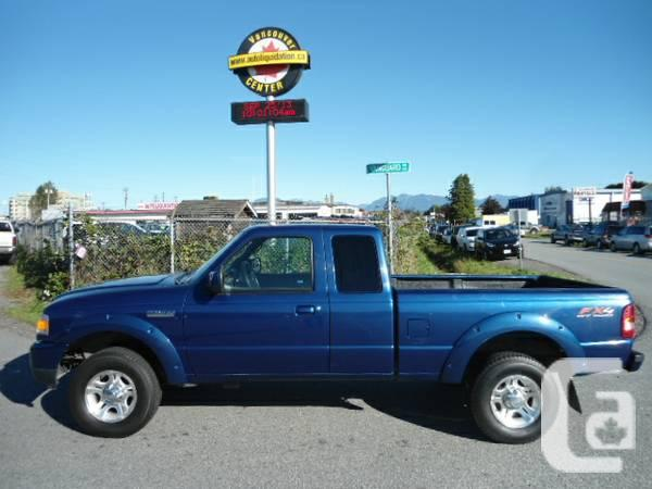 2008 Ford Ranger Sport Truck - $8995