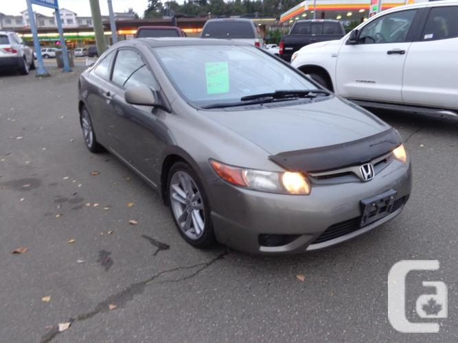 2008 honda civic si coupe for sale in nanaimo british. Black Bedroom Furniture Sets. Home Design Ideas