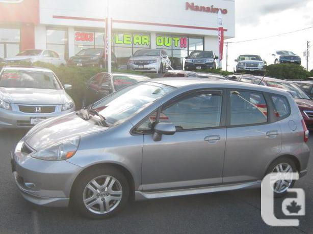 2008 honda fit sport manaual h13380a for sale in nanaimo british columbia classifieds. Black Bedroom Furniture Sets. Home Design Ideas