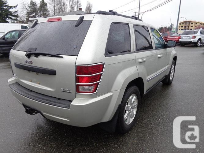 2008 jeep grand cherokee laredo 4x4 turbo diesel for sale in nanaimo british columbia. Black Bedroom Furniture Sets. Home Design Ideas