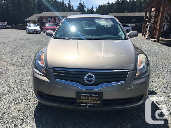 2008 Nissan Altima SL - Leather & Sunroof with Only