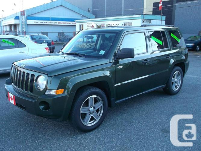 2008 Patriot Vehicle Reduced Km 4cyl 4wd For Sale In