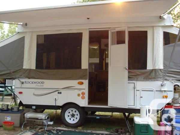 2008 Rockwood Tent Trailer (almost new) - $400