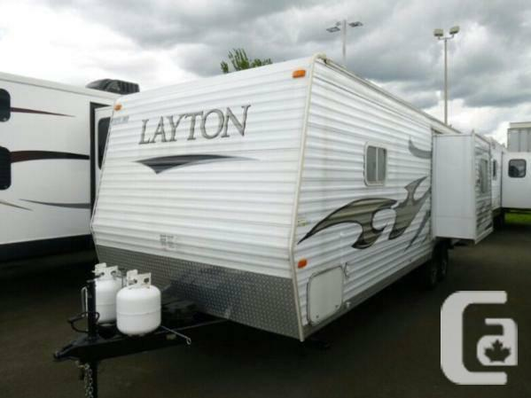 2008 Skyline Layton 264 LTD Travel Trailer