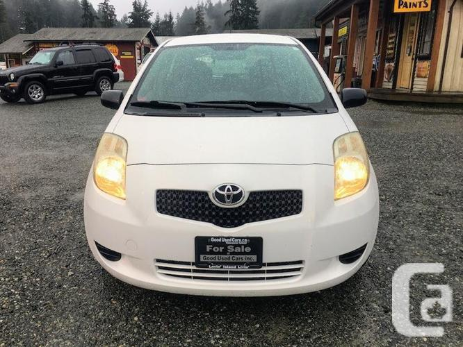 2008 Toyota Yaris Automatic with A/C and Power Group