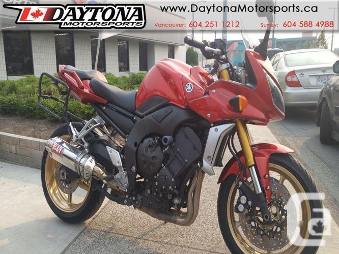 2008 Yamaha FZ-1 Sport Tourer Motorcycle * PRICED TO