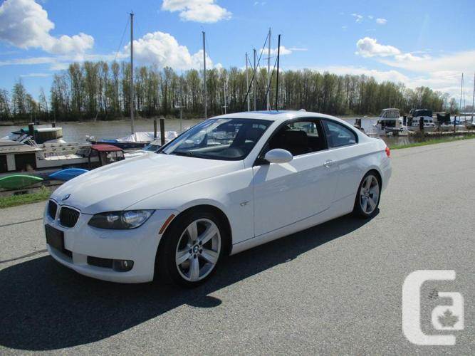 2009 BMW 335i Coupe White Sport Package