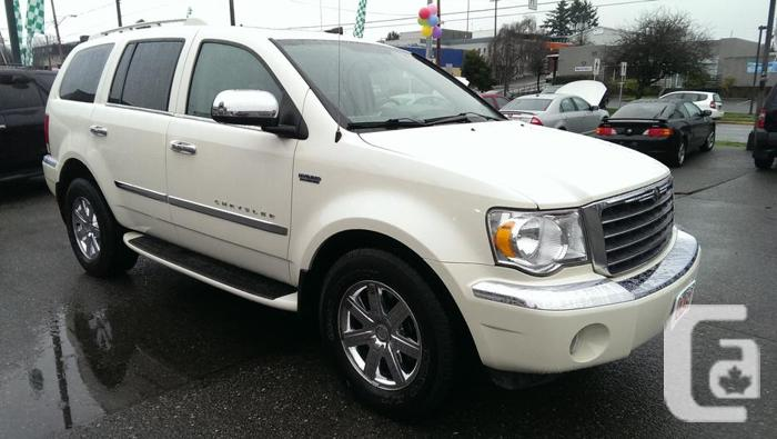 2009 chrysler aspen cross packed for sale in victoria british columbia classifieds. Black Bedroom Furniture Sets. Home Design Ideas