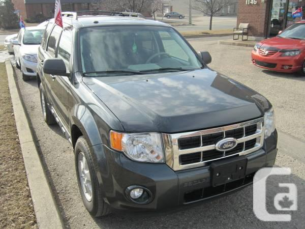 2009 ford escape suv price reduced for sale in belleville ontario classifieds. Black Bedroom Furniture Sets. Home Design Ideas