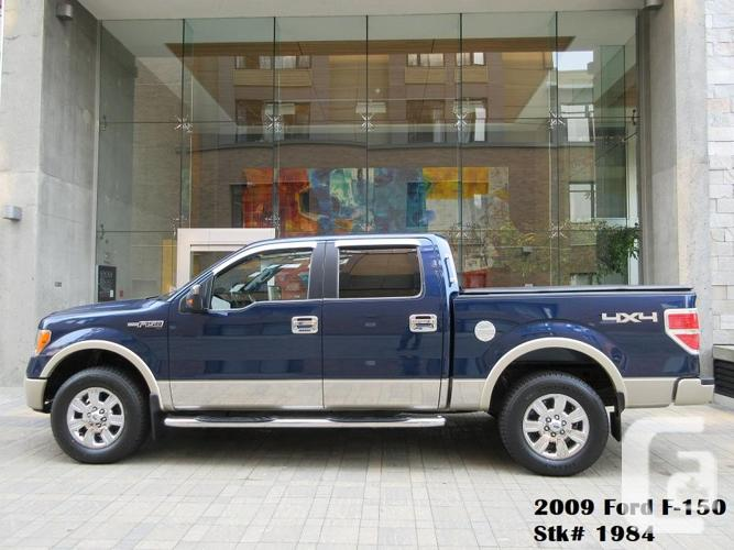 2009 Ford F150 Lariat SuperCrew 4x4 - FULLY LOADED! -