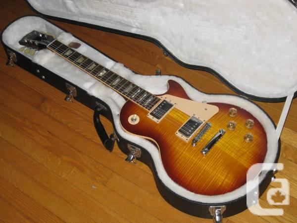 2009 Gibson Les Paul Traditional flame top - $1750