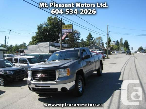 2009 GMC Sierra 2500HD Z-71 4X4 EXTENDED CAB - Call to
