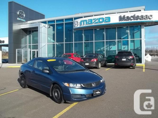 2009 HONDA CIVIC COUPE 5 MT JUST 72600 KILOMETER