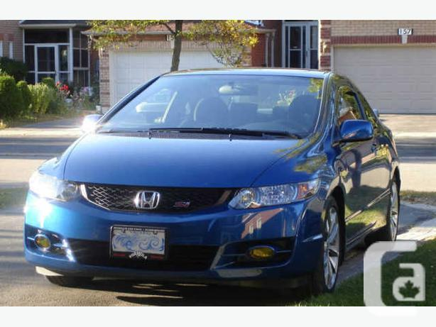 2009 honda civic si coupe for sale in pickering ontario classifieds. Black Bedroom Furniture Sets. Home Design Ideas