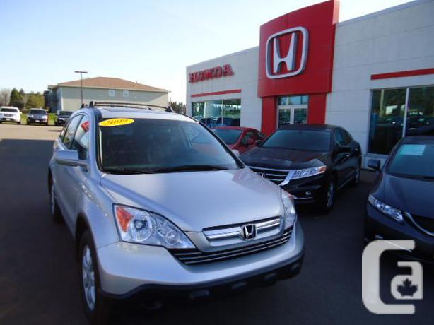 2009 Honda CR-V EX-L, Loaded with all the Options!