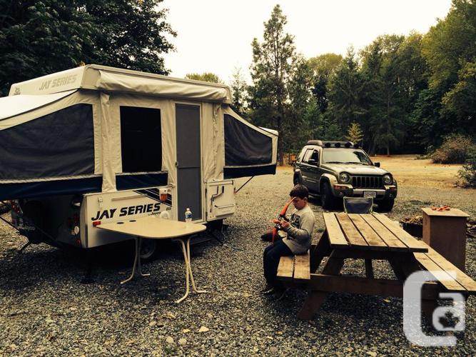 2009 jayco series tent trailer
