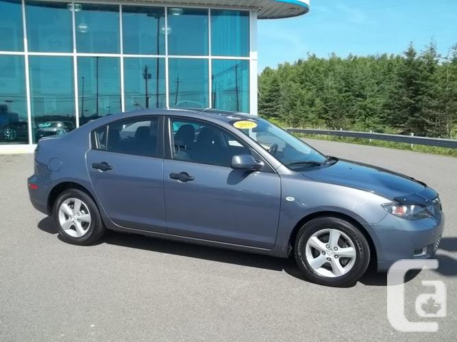 2009 MAZDA 3 GX WITH COMFORT PACKAGE