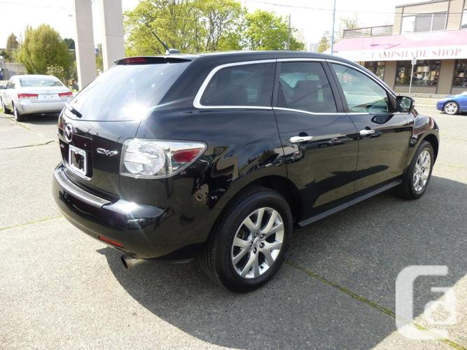 2009 mazda cx 7 for sale in victoria british columbia. Black Bedroom Furniture Sets. Home Design Ideas