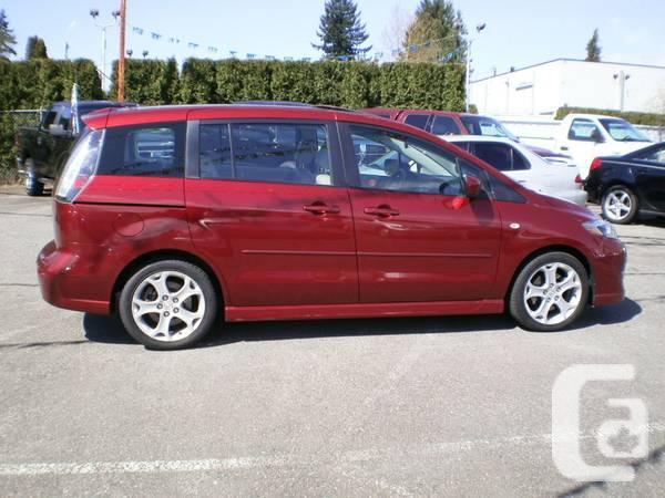 2009 Mazda Mazda5 GT navigation - $15000
