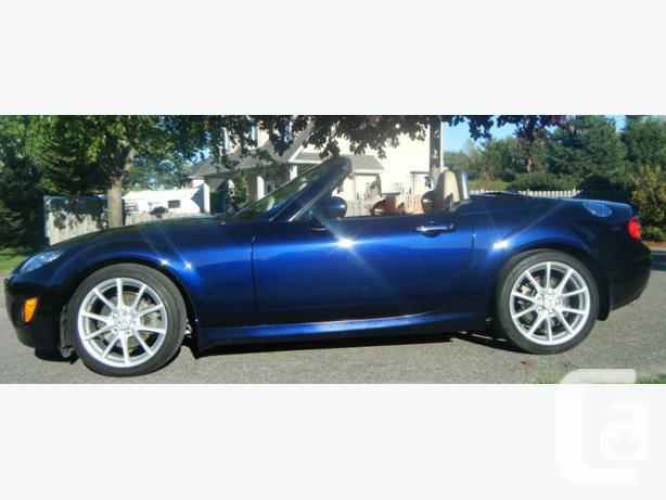 2009 mazda mx 5 miata gt for sale in manotick ontario classifieds. Black Bedroom Furniture Sets. Home Design Ideas