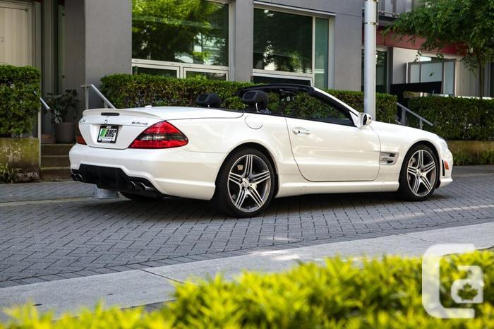 2009 Mercedes Benz SL63 AMG