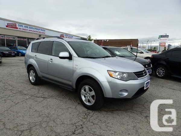 2009 MITSUBISHI OUTLANDER,7PASSANGERS,1YEAR POWERTRAIN