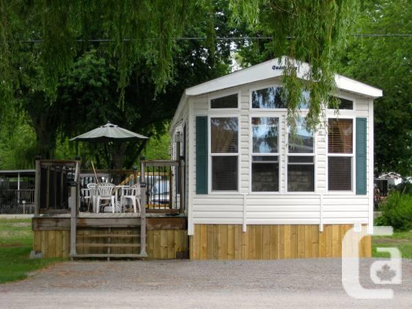 2009 Quailridge Park Model 2-Bedroom - $58000