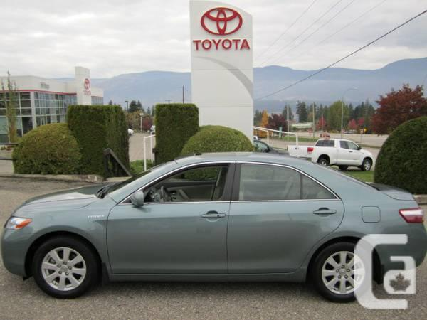 2009 toyota camry hybrid for sale in kelowna british columbia classifieds. Black Bedroom Furniture Sets. Home Design Ideas