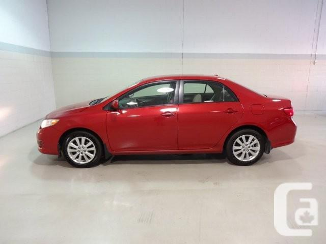 2009 toyota corolla for sale in vancouver british columbia classifieds. Black Bedroom Furniture Sets. Home Design Ideas