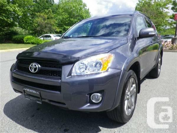 2009 toyota rav4 sport 4x4 w backup camera hurry in for sale in vancouver british. Black Bedroom Furniture Sets. Home Design Ideas