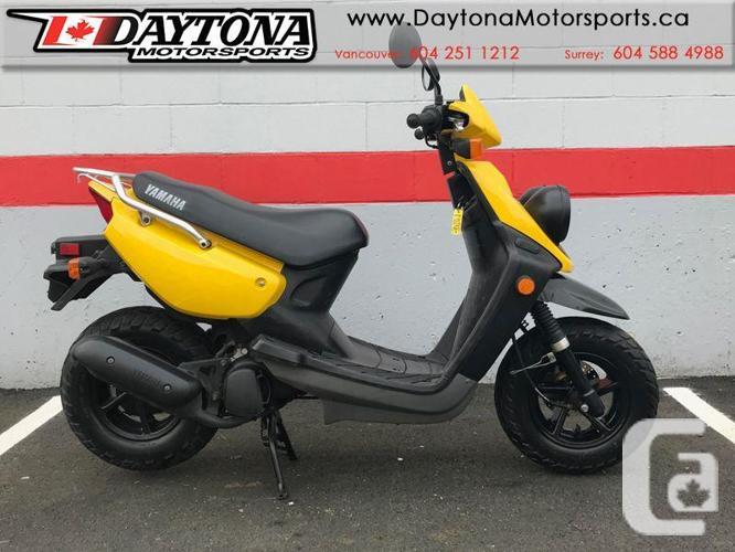 2009 Yamaha BWS 50 2-STROKE Scooter * 50cc 2-stroke *